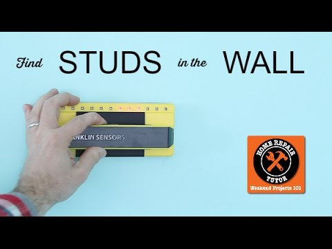 How to Find a Stud in the Wall | Home Repair Tutor