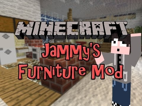 Minecraft Mod Spotlight Jammy 39 S Furniture Mod Craftable