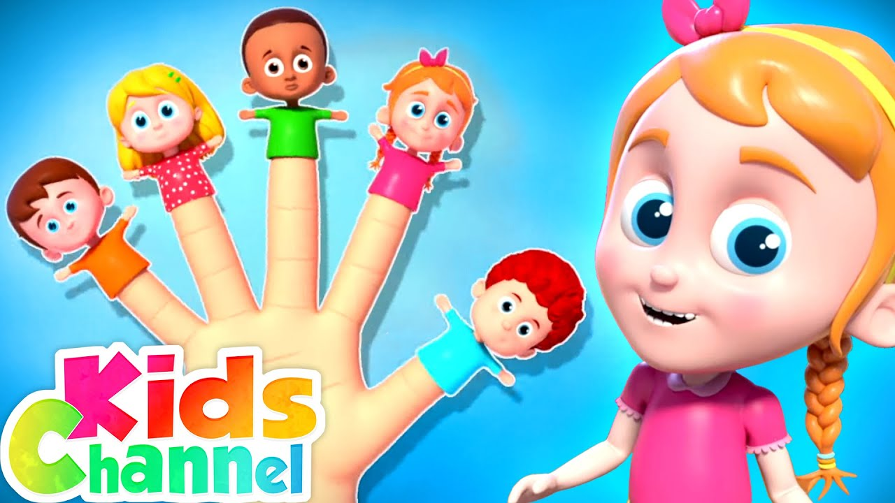 Finger Family Song   Nursery Rhymes for Kids   Schoolies Cartoon Videos - Kids Channel
