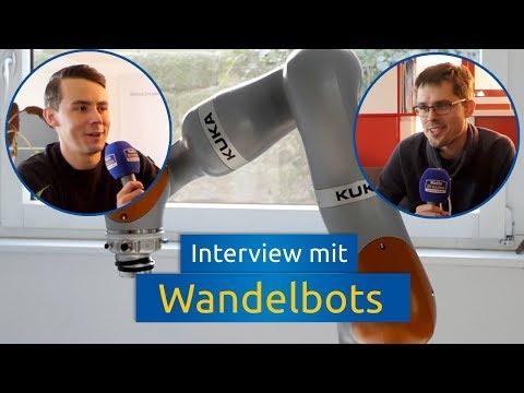Radio Dresden: Interview mit Wandelbots