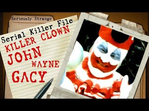 KILLER CLOWN - John Wayne Gacy | SERIAL KILLER FILES #8
