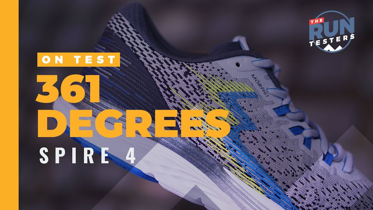 361 spire running shoes review