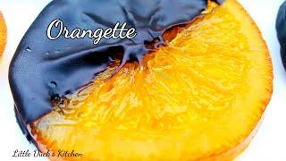 """晶莹剔透梦幻""""水晶糖漬橙片"""" ~巧克力橙片❤How to make Orangette au Chocolat"""