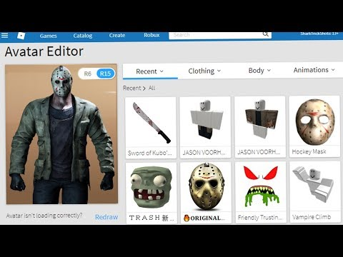 Making Jason Voorhees A Roblox Account!
