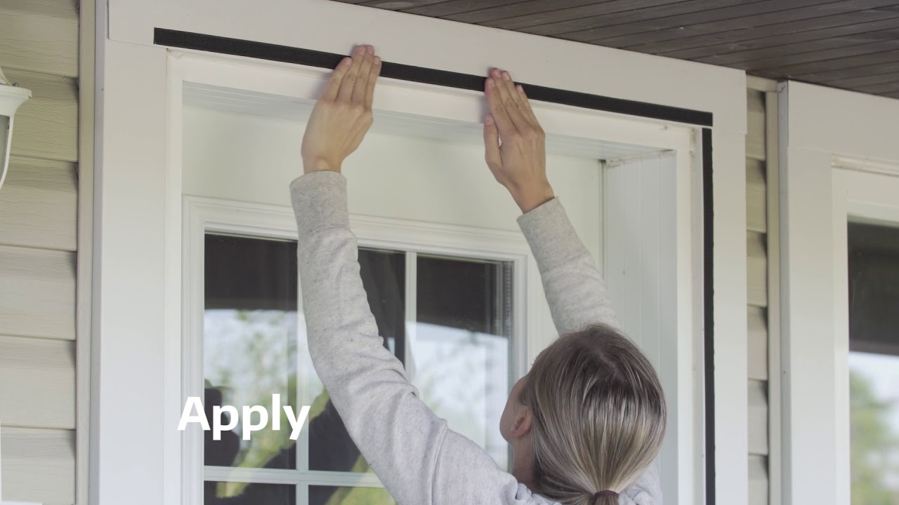 How To Install Climaloc Magnetic Screen Curtain Hands Free