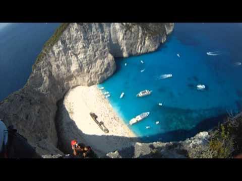BASE Jump Brasil - Zakynthos - Greece - PT 1 - 08/2011