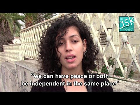 Palestinians: Should both Palestinians and Jews have independence?