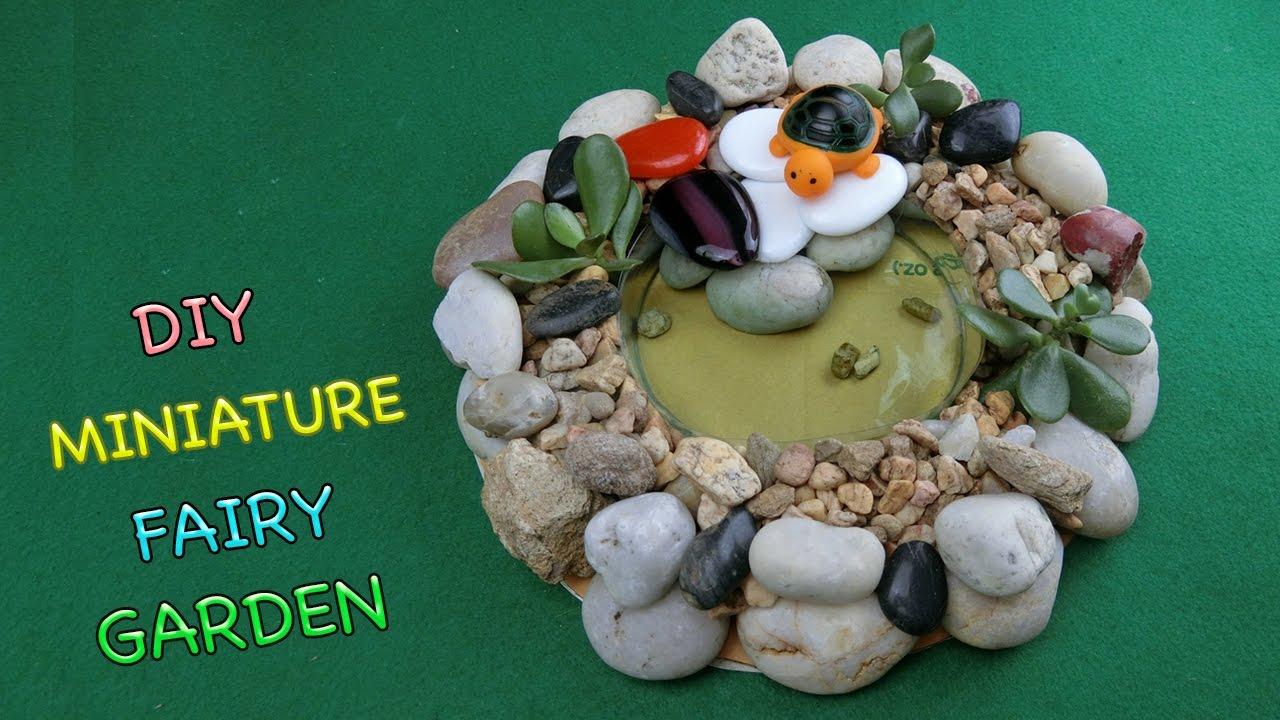 DIY Miniature Fairy Garden | Easy Crafts ideas