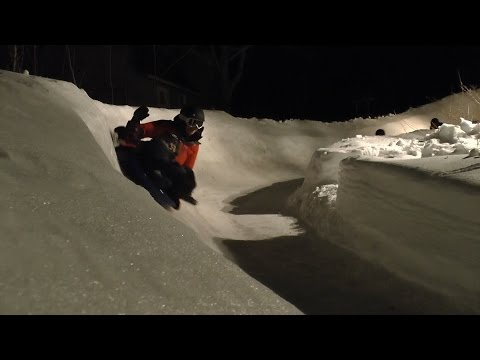 WATCH THIS: P.E.I.'s backyard luge: 13 hairpins turns, 150 metres