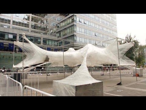 Beijing Design Week showcases installations made of waste