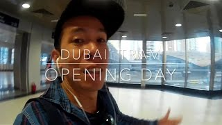 Dubai Tram First Day Ride Vlog #24