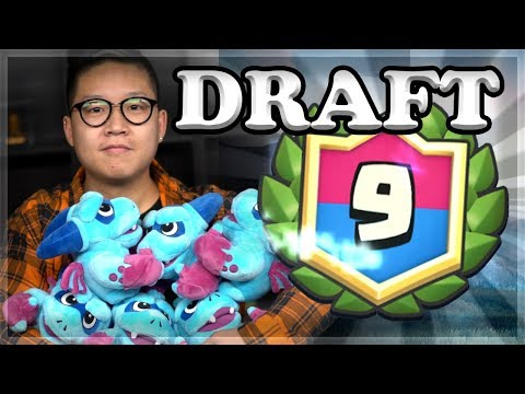 Real Life Minion Horde Unboxing & Draft Challenge | Clash Royale 🍊