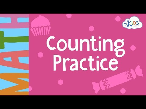Counting Practice - 1st Grade | Math Worksheets | Kids Academy