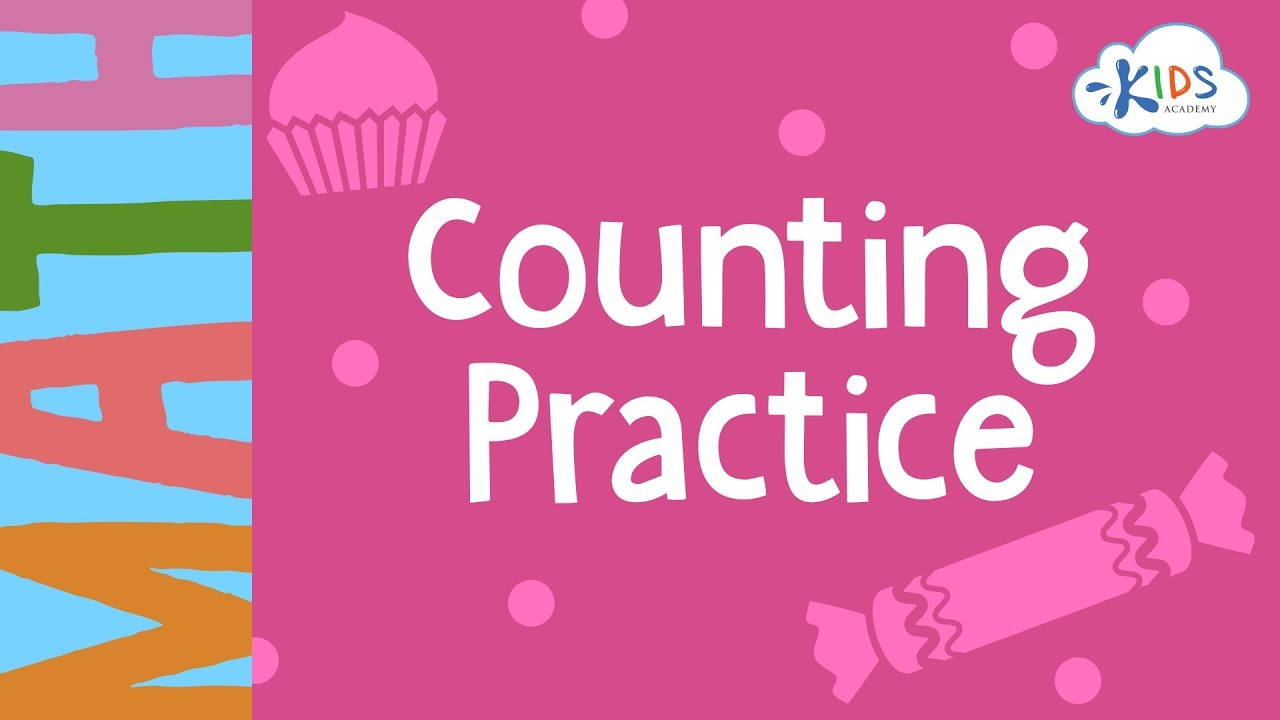 medium resolution of Counting Practice - 1st Grade   Math Worksheets   Kids Academy - YouTube