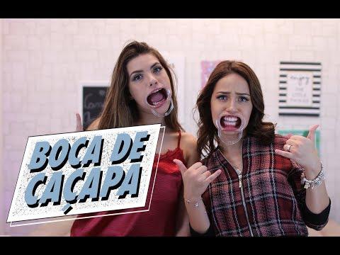 DESAFIO: FALANDO COM BOCA DE CAÇAPA ft....