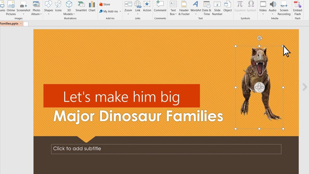 Bring your presentations to life with 3D images in PowerPoint