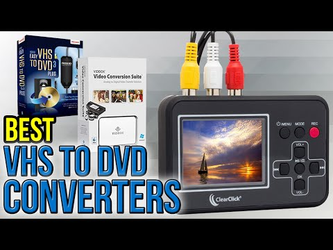 10 Best VHS To DVD Converters 2017