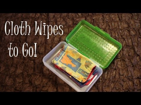 10 Ideas for Cloth Wipes On The Go