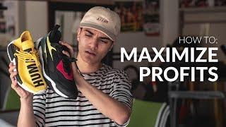 5 Ways to Maximize Profits by Reselling Sneakers