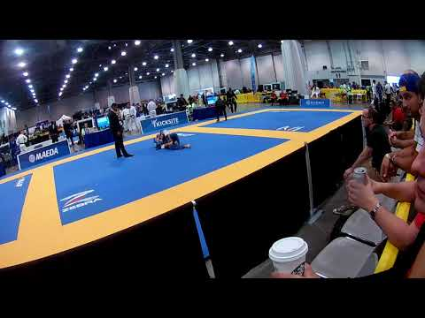 Justin Newport Master Worlds 2018