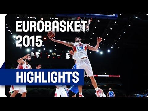 Spain v Greece - Quarter Final - Game Highlights - EuroBasket 2015