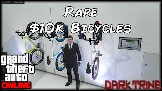 GTA 5 Online - PC - Rare Bikes - $10 k Bicycle Location - Secret Rare Storable Vehicle