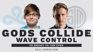 C9 Sneaky's Twitch vs TSM Zven's Kalista: Wave Management and Matchup Skill in Challenger Solo Queue