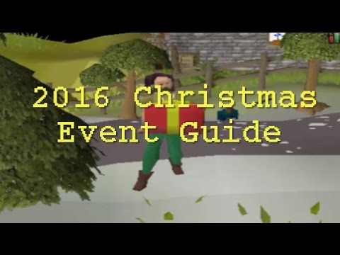 OSRS 2016 Christmas Event Guide - YouTube