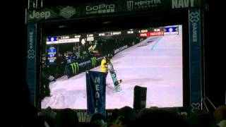 Chloe Kim gold medal run - Women's superpipe finals - Winter X Games 15 Aspen