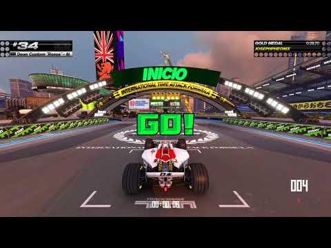 Trackmania Turbo white stadium  
