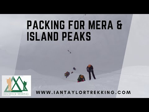 Packing for Mera and Island peaks