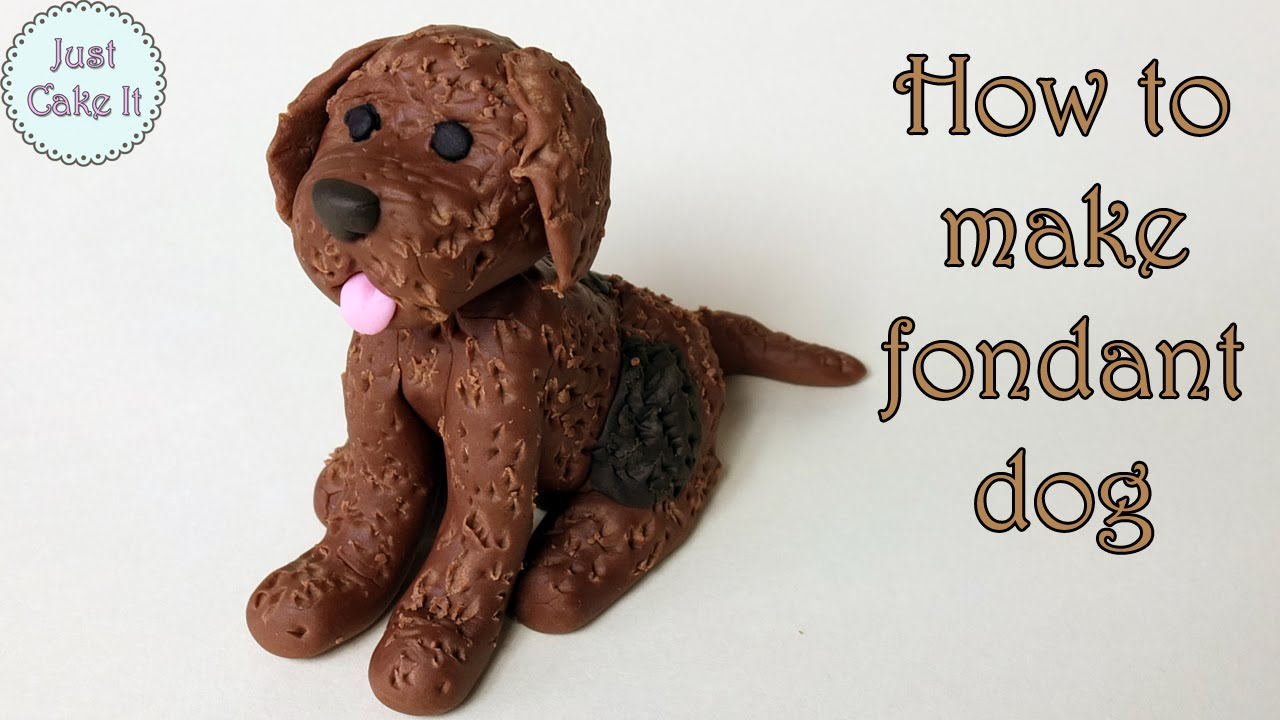 How To Make A Dog Out Of Icing