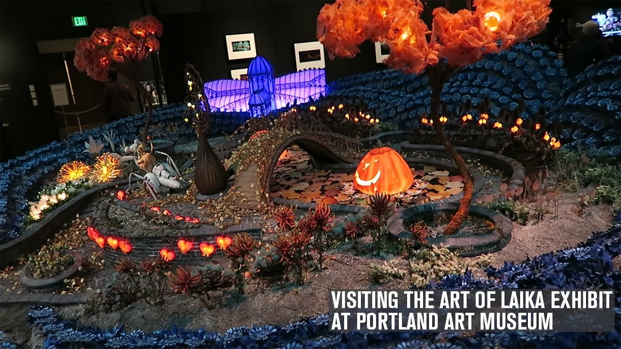 Visiting The Art Of Laika Exhibit At The Portland Art Museum Youtube