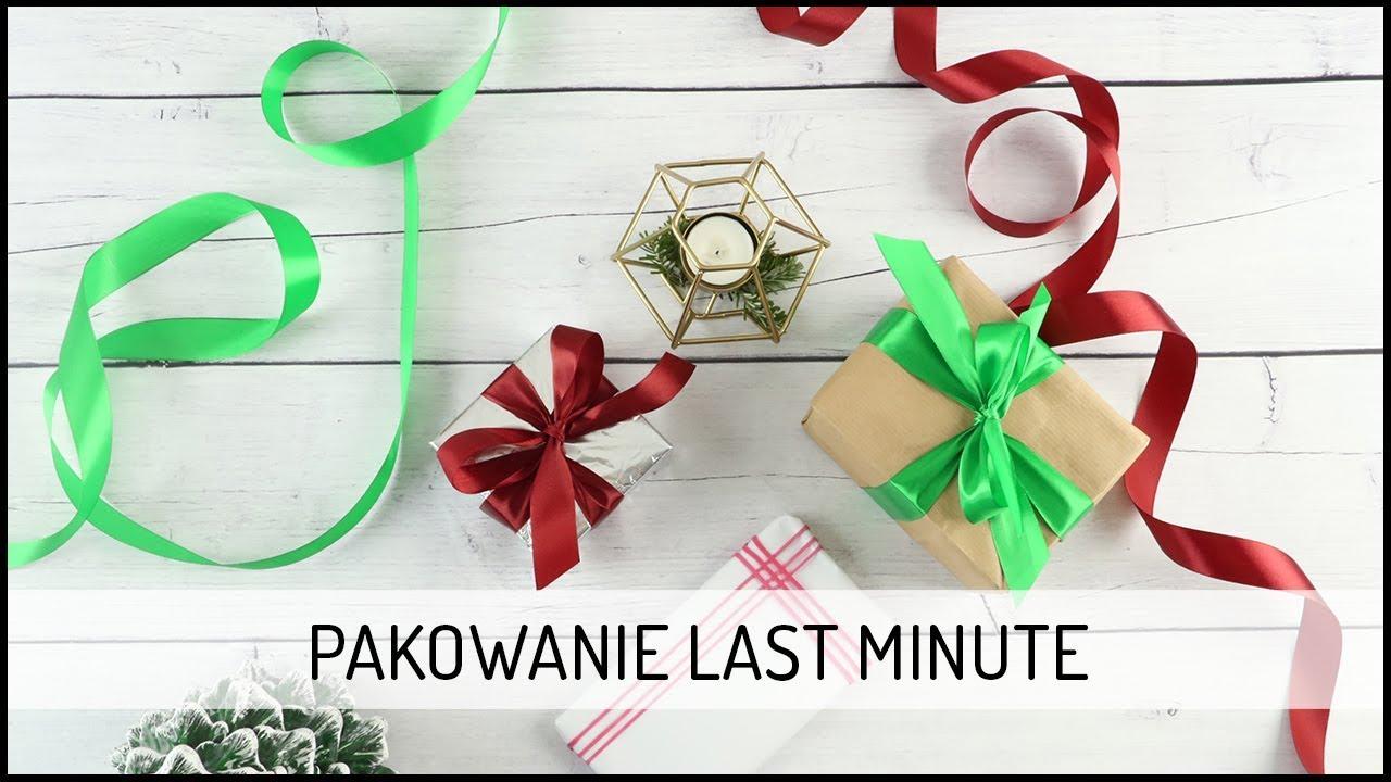 Pakowanie Prezentu – LAST MINUTE | Święta DOMODI TV