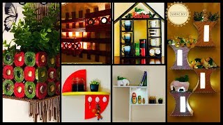 6 DIY Wall Shelves and Display Units| gadac diy| room decor| craft ideas for home decor| diy crafts