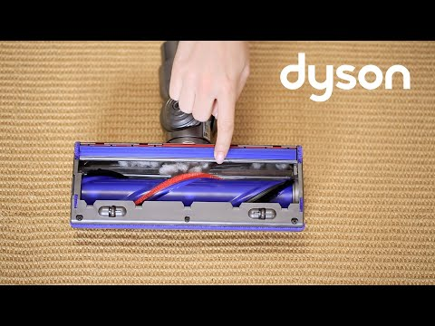 Dyson V8 cord-free vacuums with the Direct Drive cleaner head - Checking for blockages (US)