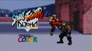 Repeat youtube video Street Fighter Alpha playthrough (Game Boy Color)