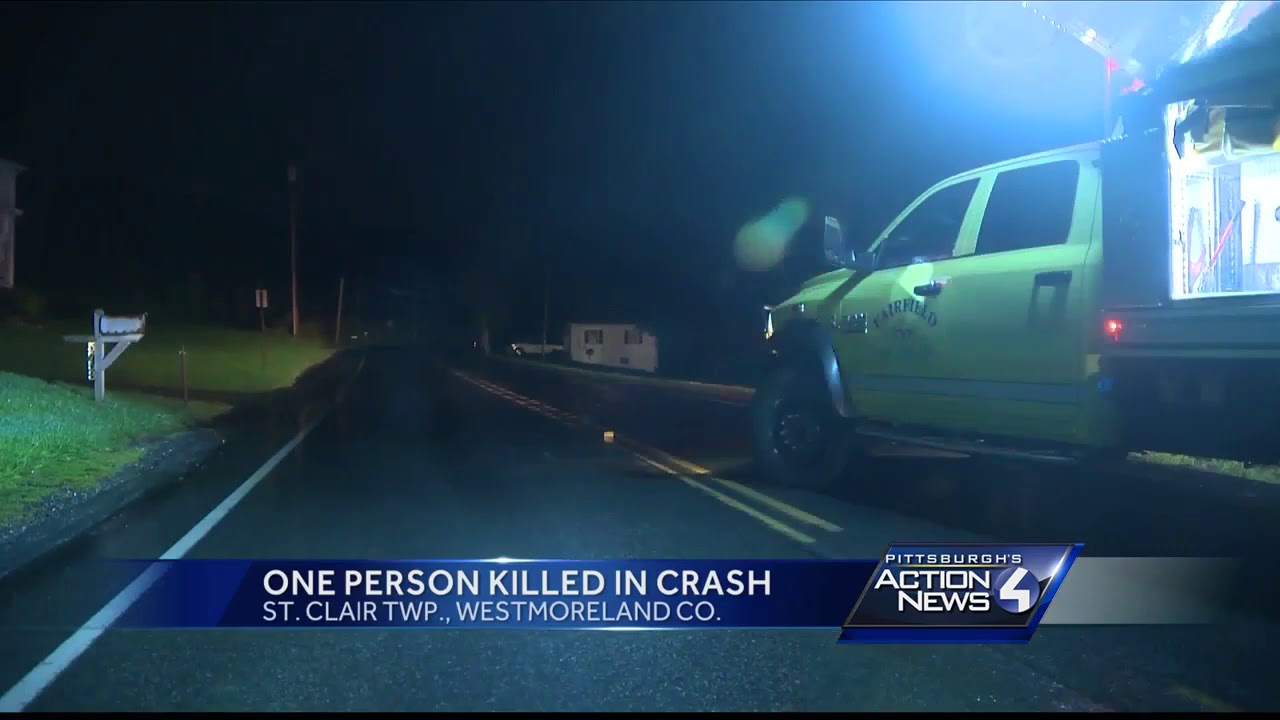 Fatal crash on Route 711 in St  Clair Township