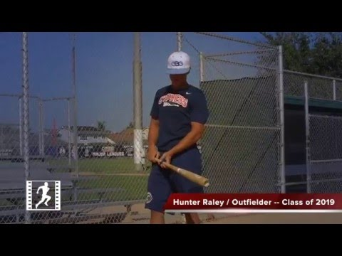 Hunter Raley / Outfielder / Cypress High School / Class of 2019 / My Prospect Video