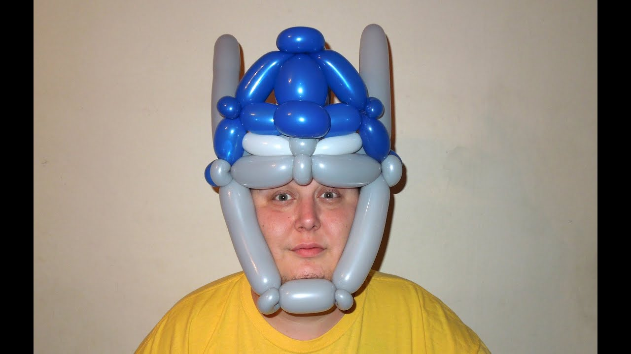 Crazy balloon animals - Transformers Optimus Prime Balloon Hat Chitwist Chicago Balloon Twisting