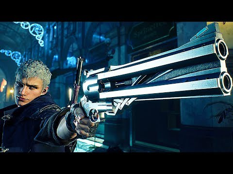 Devil May Cry 5 Weapons, Abilities, Devil Trigger Gameplay Demo