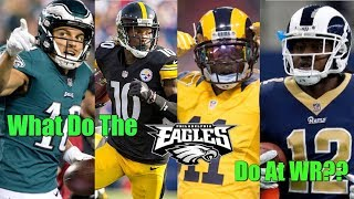 Eagles Want To Be More Explosive?? Then Get One Of These Four Wide Receivers!!!