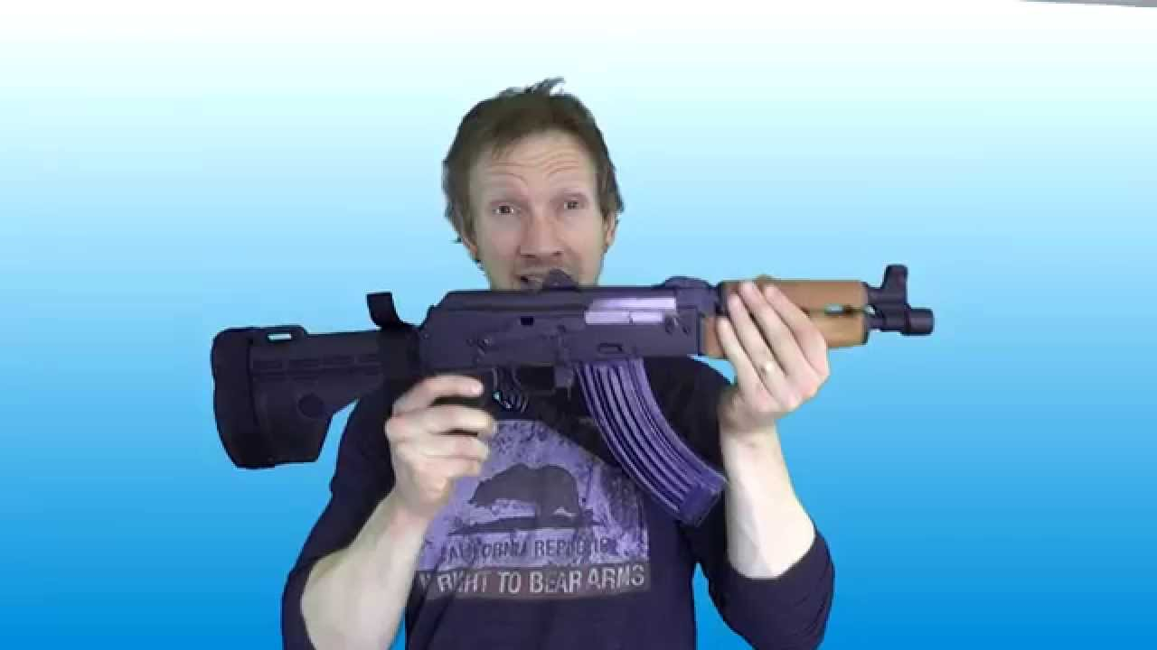 Century Arms M92  PAP AK47 Pistol With Arm Brace: First Look - Century Arms M92  PAP AK47 Pistol With Arm Brace: First Look