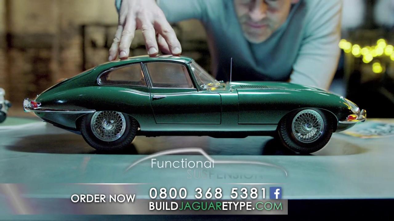 Build the Jaguar E-type - YouTube