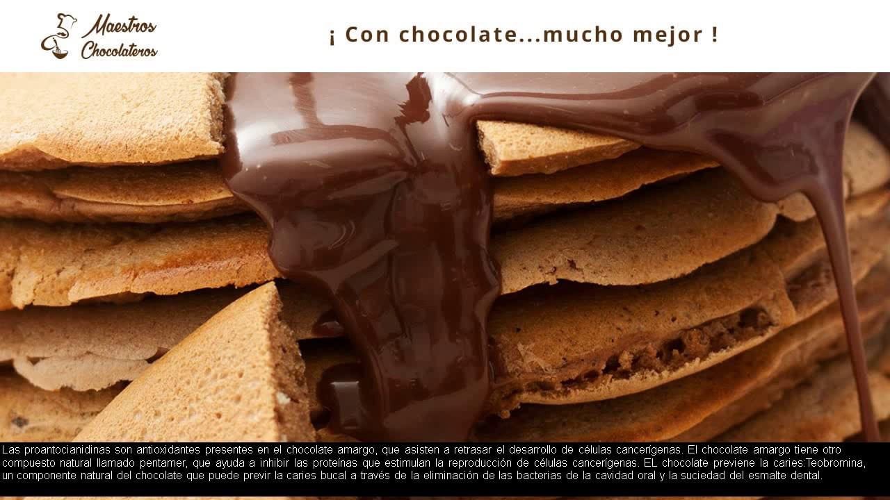 Chocolate negro tiene colesterol