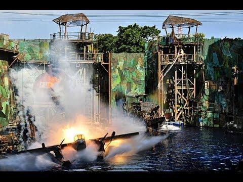 Universal Studios Singapore - Waterworld 2014 (HD) - YouTube