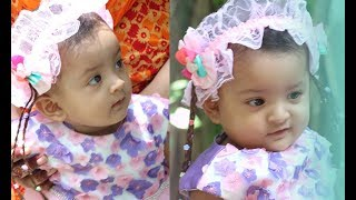 Cute baby visit her father office | beautiful babies