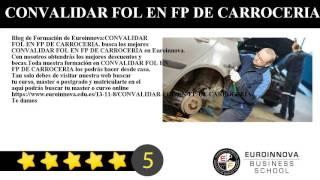 CONVALIDAR FOL EN FP DE CARROCERIA
