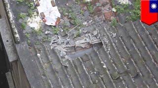 hombre en taiwn cae de un edificio de 12 pisos y sobrevive el impacto