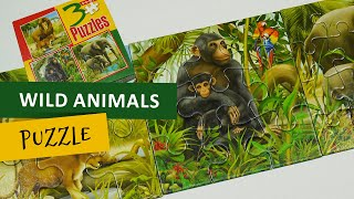 Wild Animals Jigsaw Puzzle For Kids screenshot 5